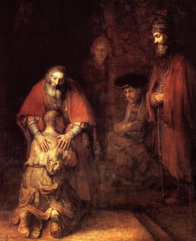 El regreso del hijo pródigo ( Rembrandt )